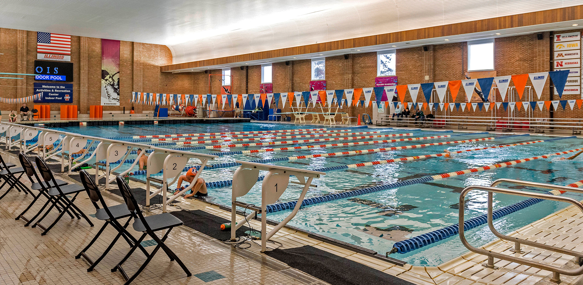 Illinois athletics facilities arc pool - Arc swimming pool ...