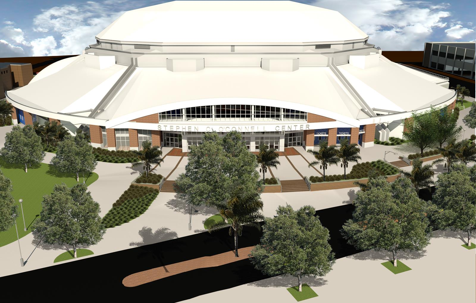 O Connell Center Renovations : Exactech arena at the stephen c o connell center