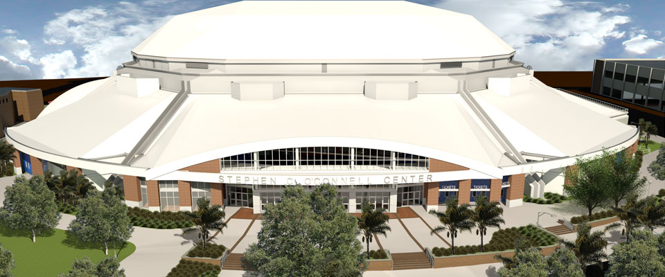 O Connell Center Renovations : Uf executes construction authorization with brasfield