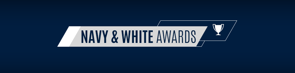 Navy & White Awards