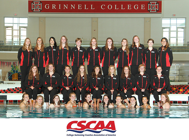 Grinnell College Athletics Grinnell Women Claim Scholar