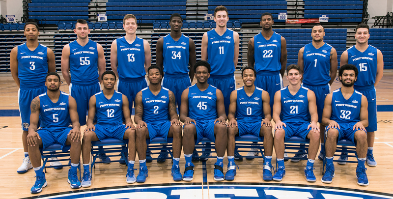 Fort Wayne Mastodons Athletics Mens Basketball ...