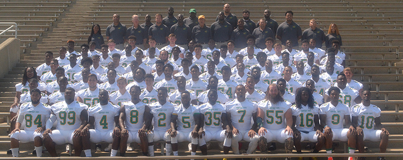 Kentucky State University - 2017 Football Roster