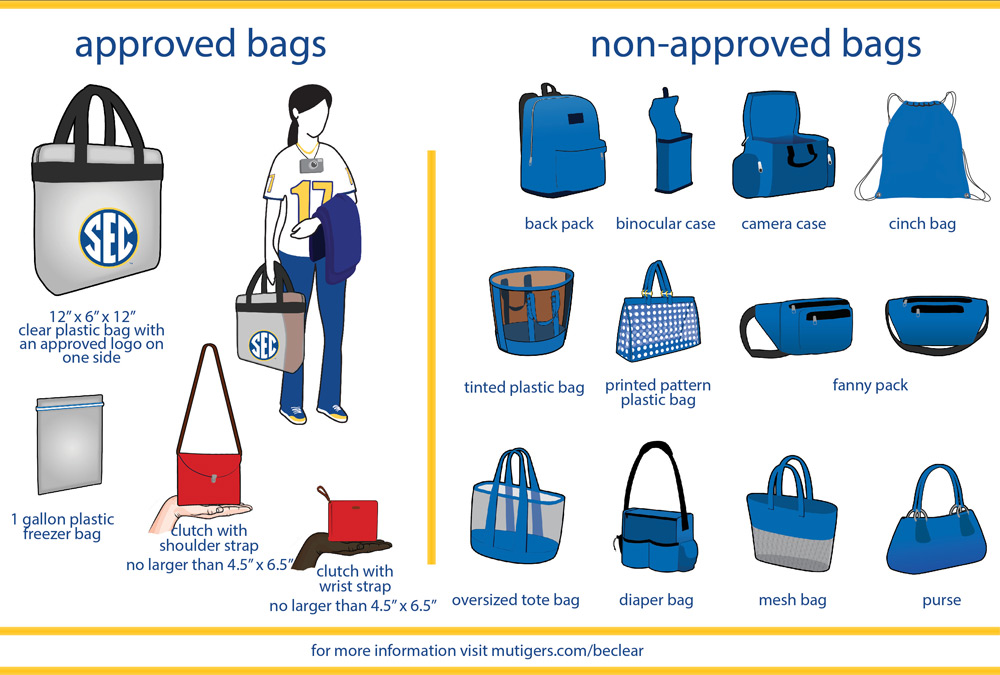 Clear Bag graphic