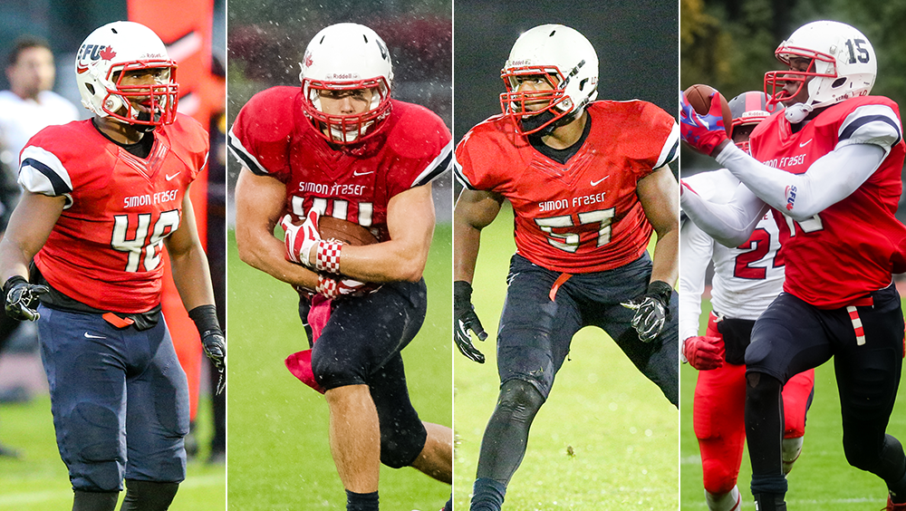 Simon fraser university canada preview football season underway with training camp for Humboldt swimming pool schedule