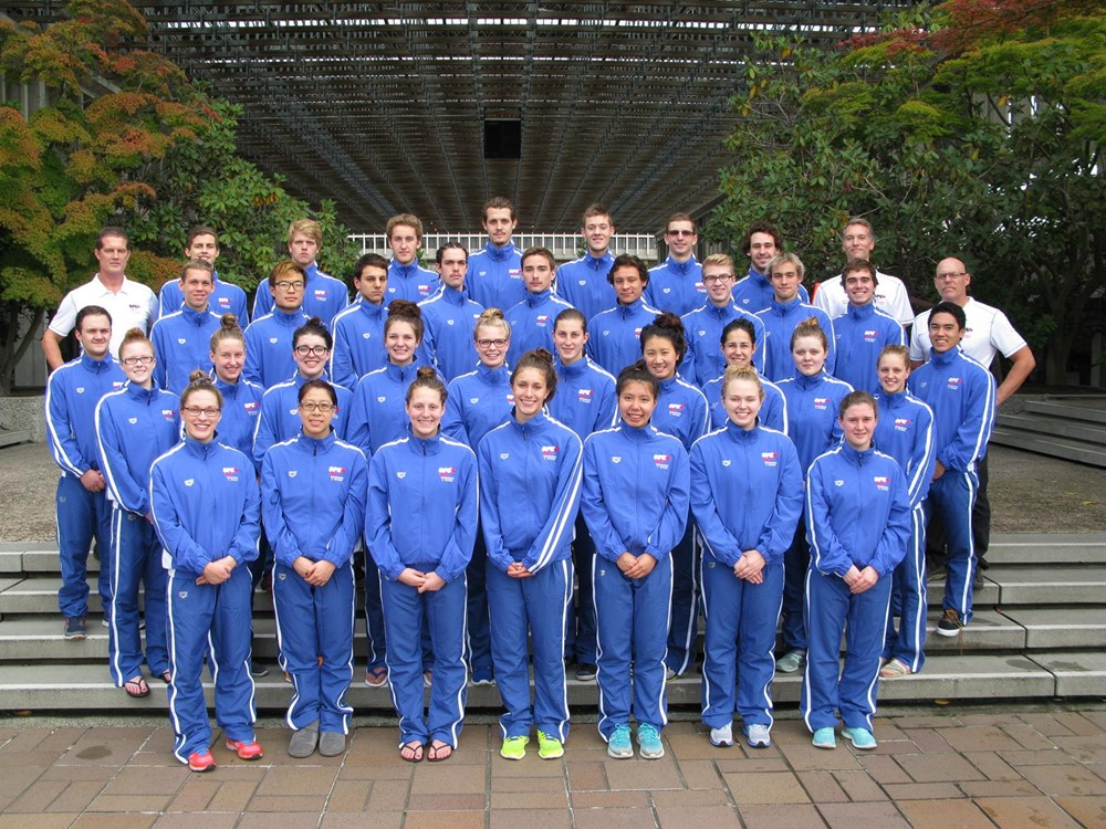 Simon fraser university canada 2014 15 swimming and diving for Burnaby swimming pool schedule