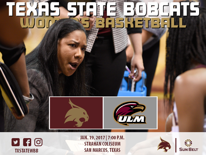 texas state athletics women 39 s basketball hosts ulm thursday. Black Bedroom Furniture Sets. Home Design Ideas