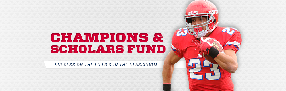 Champions & Scholars Fund graphic