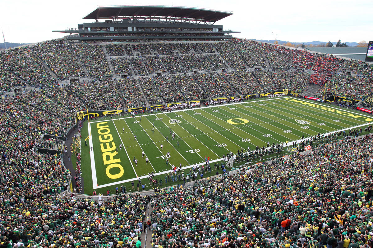 Autzen Stadium Sellout Streak In Jeopardy For Opener