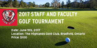 Staff and Faculty golf