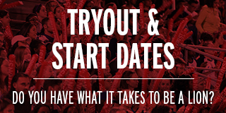 Start dates and tryouts