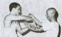 Bruce Lee and Ip Man Chi Sau training