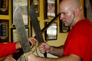 Lakeland wing chun butterfly swords training