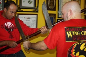 Lakeland wing chun advanced butterfly sword training