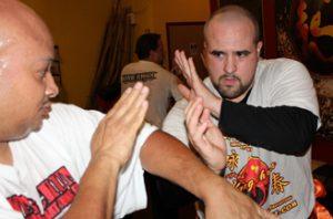 Advanced Wing Chun combinations training
