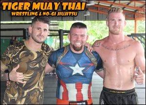 Sifu Och Wing Chun, Tiger, Tiger Muay Thai, Tiger Wing Chun, Wing Chun, Muay Thai, MMA training