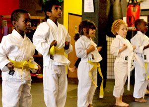 Lakeland little lions kids preschool martial arts kickboxing karate kung fu ages 3 - 5 years old