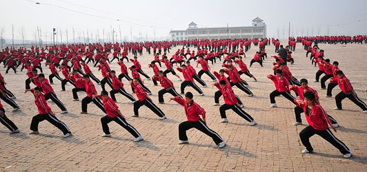 Shaolin Kung Fu, Training, Forms, Martial Art Forms