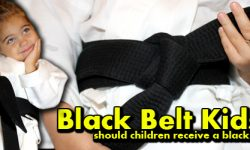 black belt kids, kids black belt, kids, black belt, ranking, mcdojo, bullshit martial arts