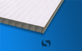 4mm Corrugated Plastic (White)