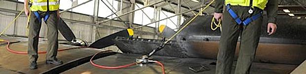 Protection contre les chutes (Aérospatiale)