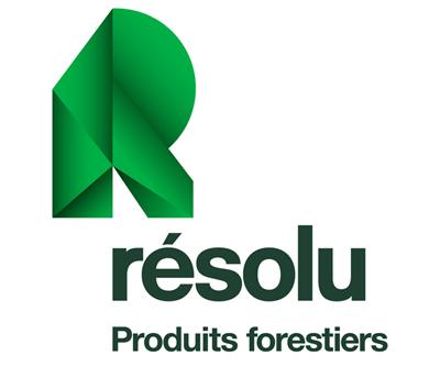 Produits forestiers Résolu Logo