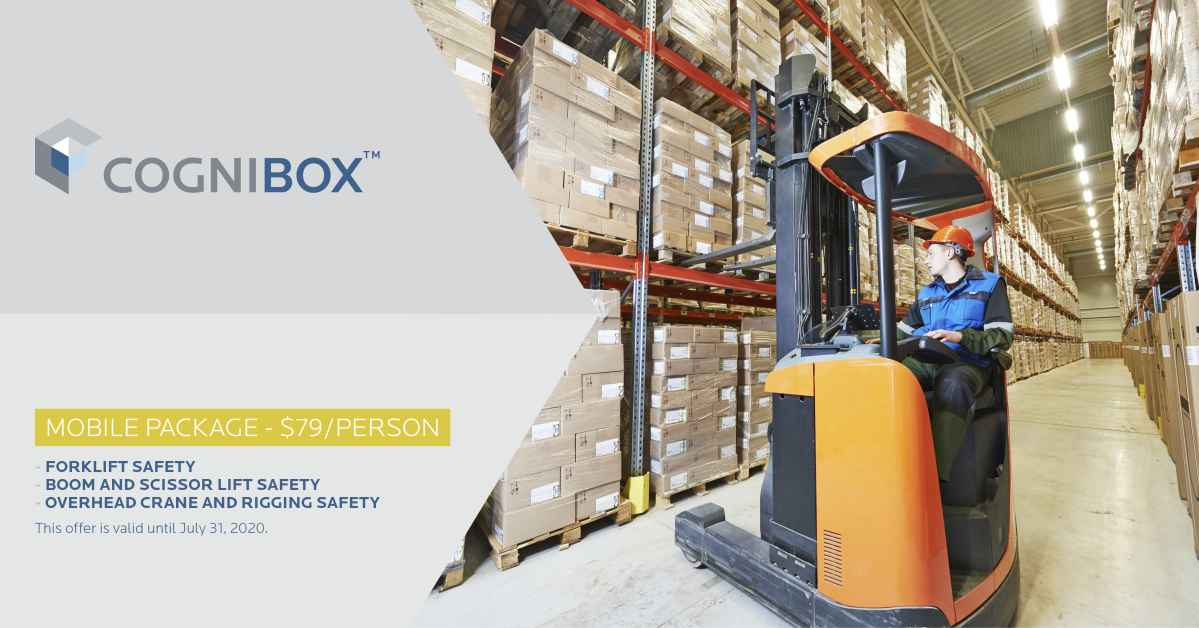 Mobile Package : Forklift Safety + Boom and Scissor Lift Safety + Crane and Hoist Rigging Safety