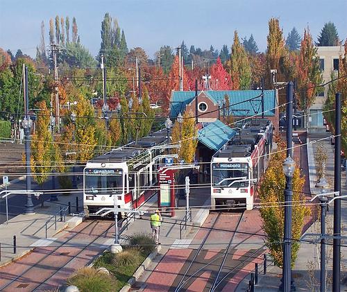 public transit photo