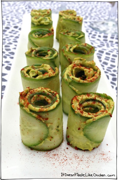 11 delicious recipes for avocado lovers simplemost like the idea of sushi but dont want to eat raw fish try this alternative these rolls are super cute and extremely easy to make this vegan recipe is forumfinder Image collections