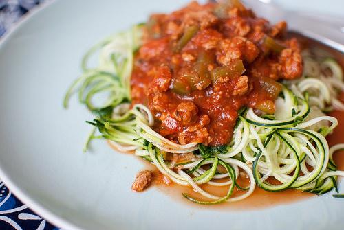 zucchini noodles photo