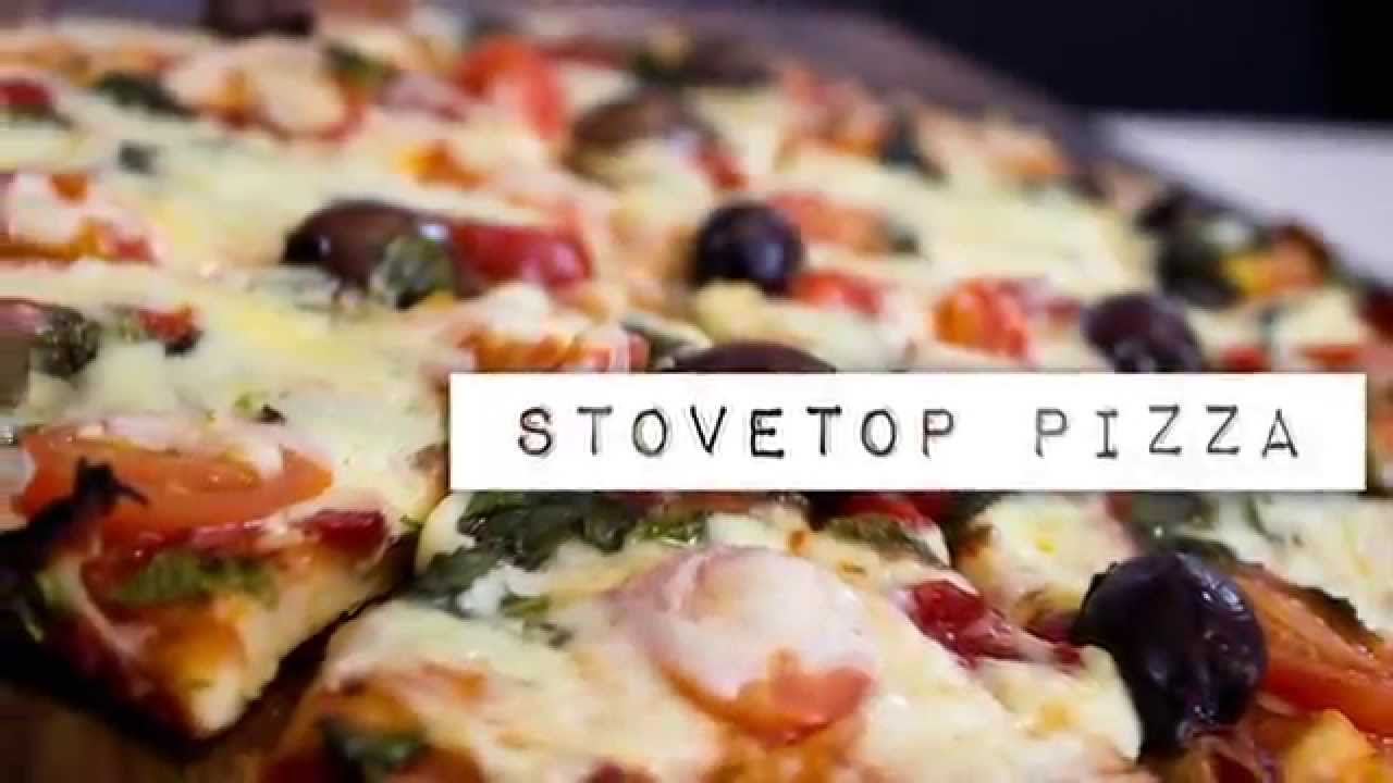 how to make delicious stove top pizza no oven required