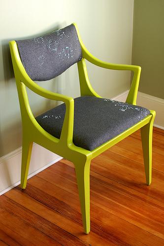 bright chair photo