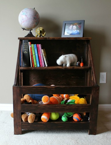 http://turtlesandtails.blogspot.ca/2014/05/child-sized-bookshelf-toybox-combo-diy.html