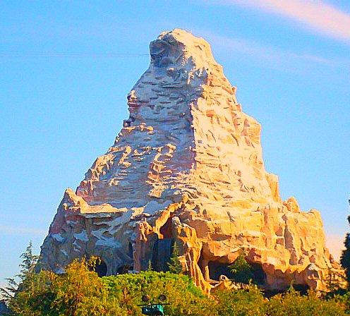 disney matterhorn photo