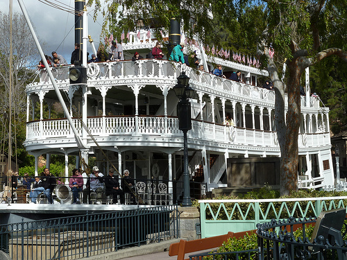mark twain steamboat disney photo