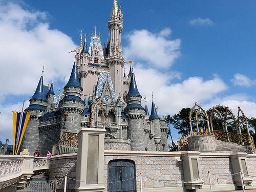 disney castle photo
