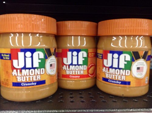 almond butter photo
