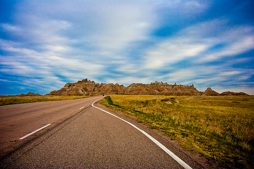 badlands national park photo