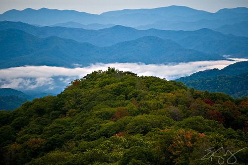 smoky mountains photo