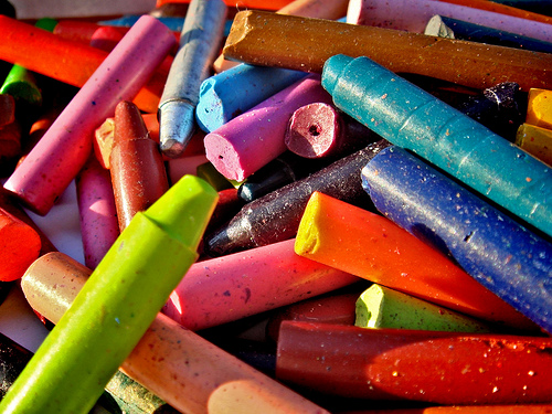 crayons photo