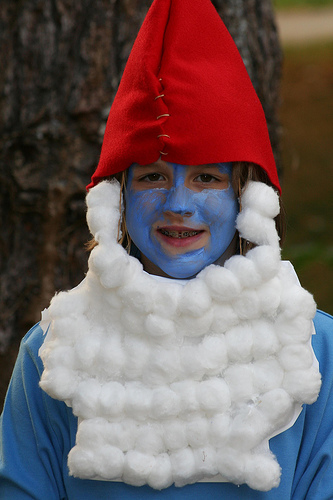 smurf halloween photo