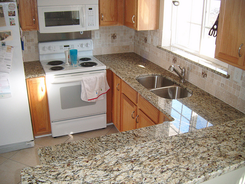granite counter photo