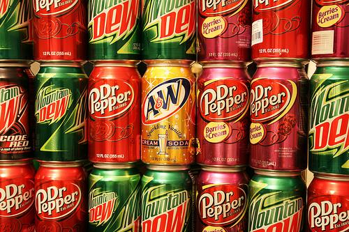 drinking soda photo