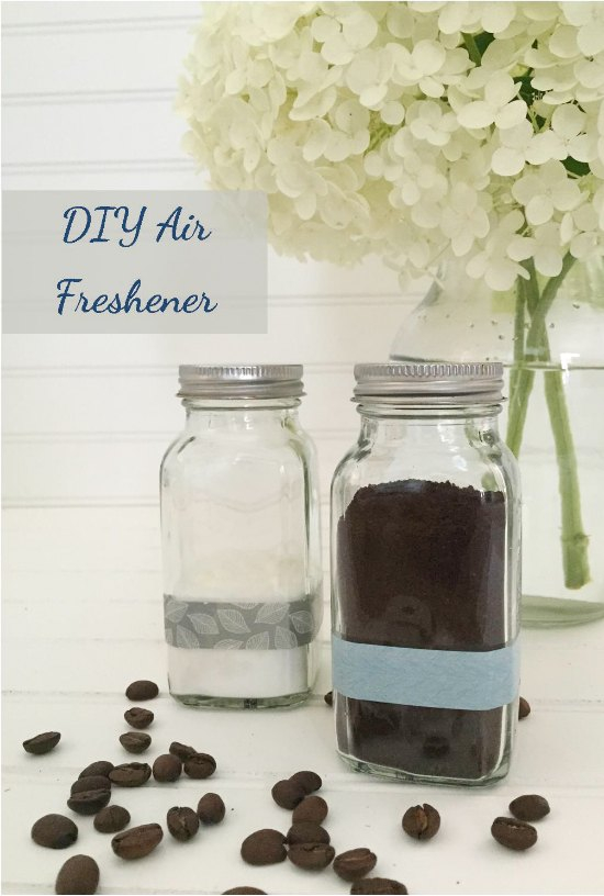 Ways to repurpose coffee grounds simplemost for Air freshener for bathroom
