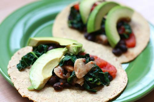 black bean tacos photo