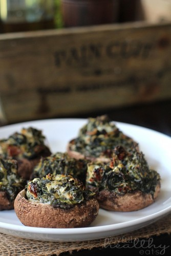 Spinach-Goat-Cheese-Stuffed-Mushrooms-3