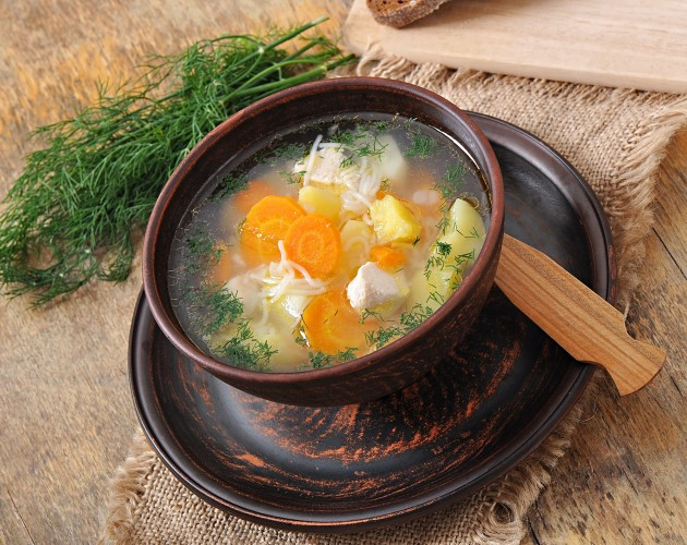 Chicken-and-Dill-Soup