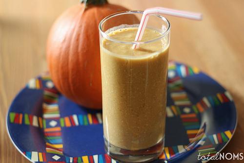 pumpkin smoothie photo