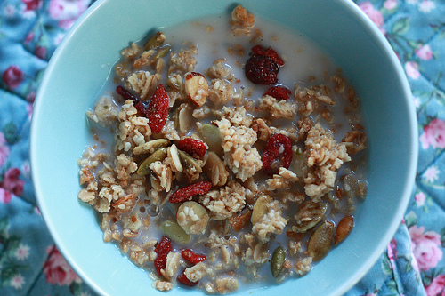 pumpkin granola photo