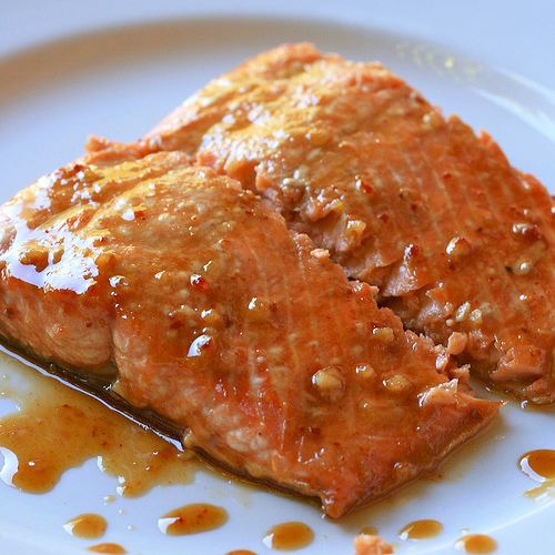 10. Orange Honey Tilapia